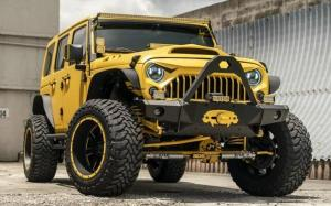 Jeep Wrangler by MC Customs on MOTO Metal Wheels 2018 года