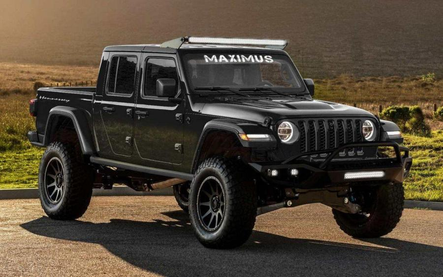 2019 Jeep Gladiator HPE1000 Maximus by Hennessey