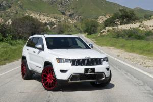 2019 Jeep Grand Cherokee Limited on Forgiato Wheels (Torino-M)
