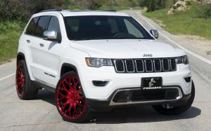 Jeep Grand Cherokee Limited on Forgiato Wheels (Torino-M) 2019 года