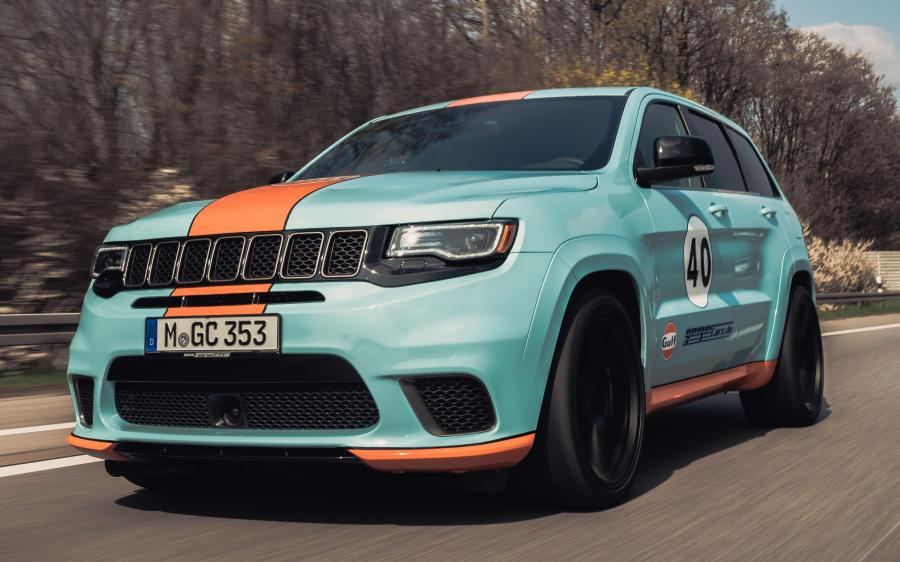2019 Jeep Grand Cherokee Trackhawk GULF 40 by GeigerCars
