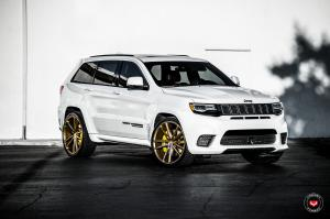 2019 Jeep Grand Cherokee Trackhawk on Vossen Wheels (CG-203)