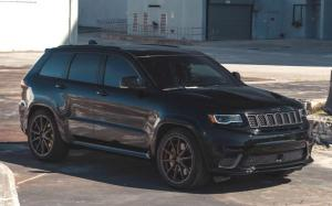 Jeep Grand Cherokee Trackhawk on Vossen Wheels (HF-3) 2019 года