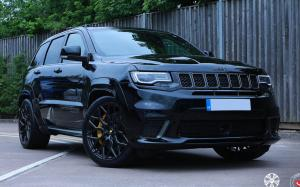 2019 Jeep Grand Cherokee Trackhawk on Vossen Wheels (S21-01)
