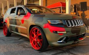 Jeep Grand Cherokee on Forgiato Wheels (GTR) 2019 года