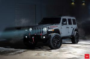 2019 Jeep Wrangler Rubicon Unlimited on Vossen Wheels (HF-2)