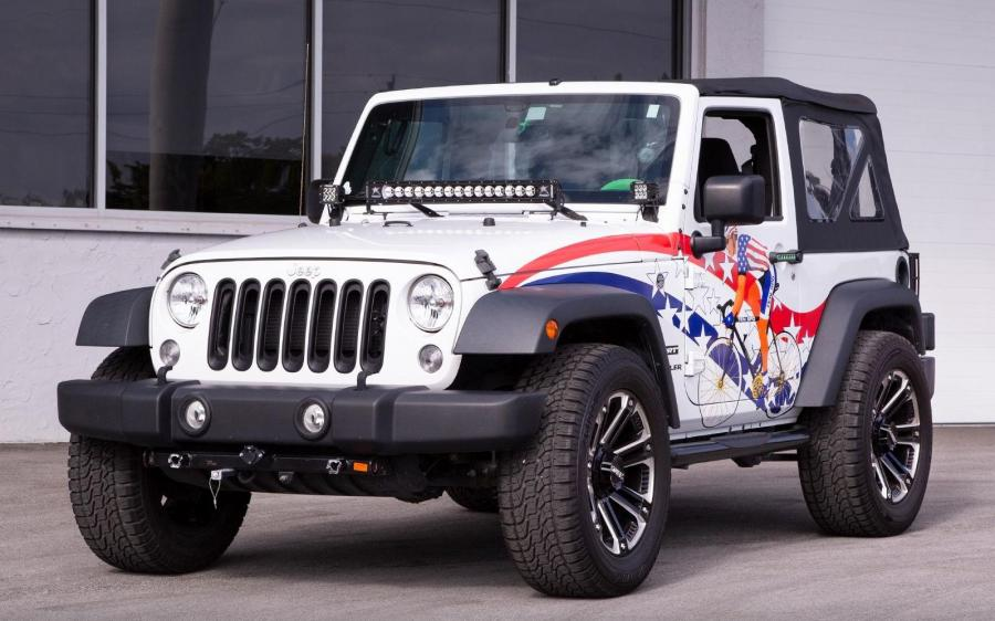 Jeep Wrangler Sport TEN SPD by MetroWrapz '2019