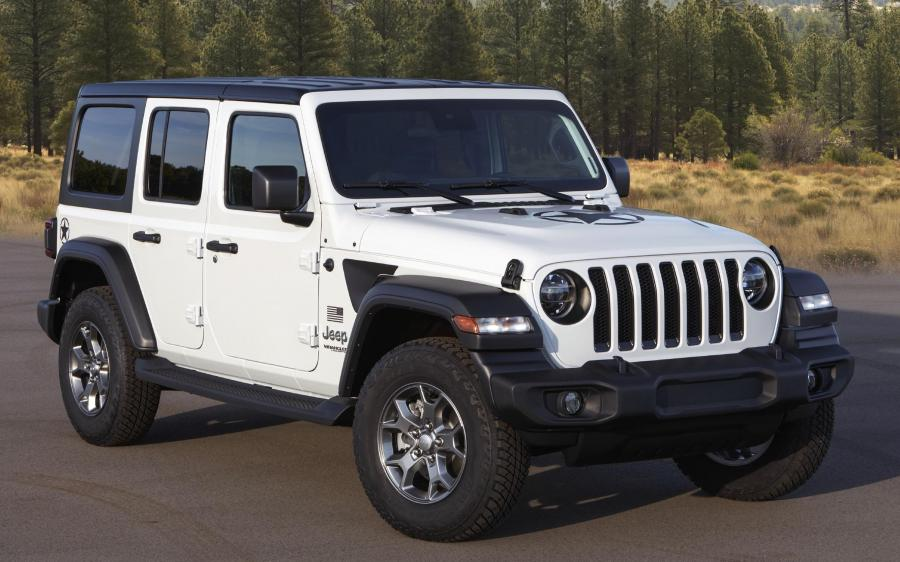 Jeep Wrangler Unlimited Freedom (JL) '2019