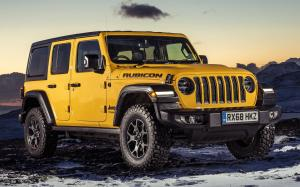 Jeep Wrangler Unlimited Rubicon 2019 года (UK)