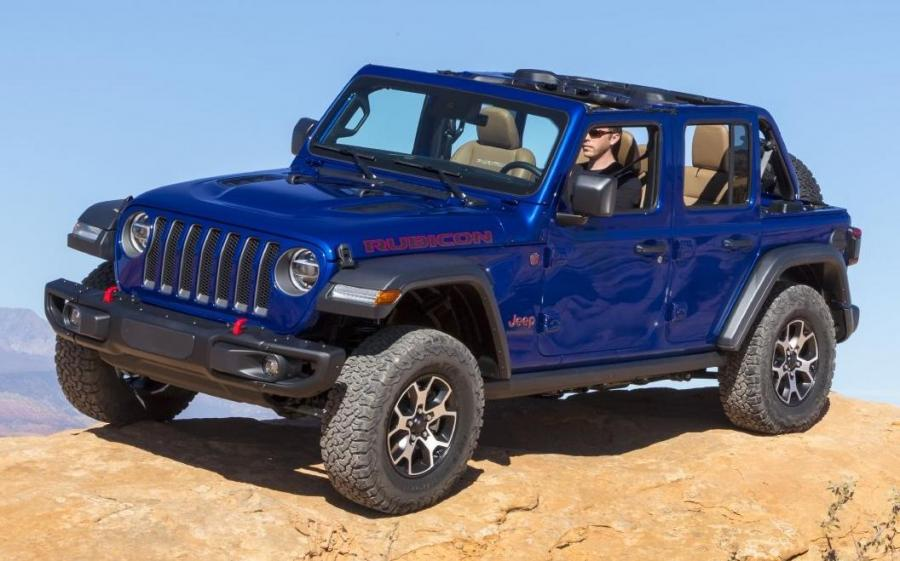 Jeep Wrangler Unlimited Rubicon EcoDiesel (JL) (NA) '2019