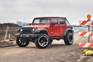 2019 Jeep Wrangler on Forgiato Wheels (FLOW Terra 002)
