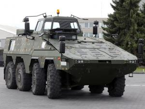 2010 KMW Boxer 8x8 Driver Training Vehicle
