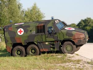 KMW GFF4 Ambulance 2010 года
