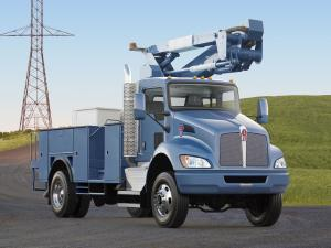 2009 Kenworth T370 4x4 Lift Platform