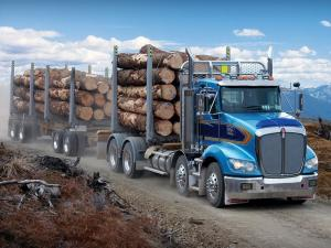 Kenworth T409 8x4 Timbertruck 2011 года