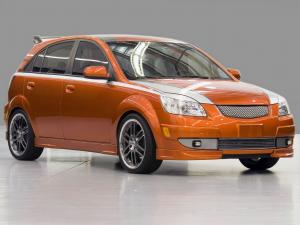 2005 Kia Rio5 Orange Blur