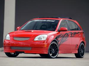 2005 Kia Rio5 Red Rocket