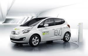 2010 Kia Venga Plug-In Electric Concept