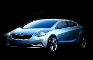 2012 Kia Forte Sketches