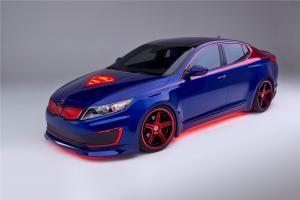 2013 Kia Optima Hybrid Superman-Inspired