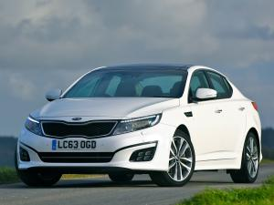 Kia Optima EcoDynamics 2014 года (UK)