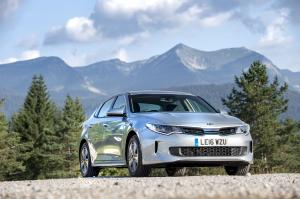 Kia Optima Plug-In Hybrid 2016 года (UK)