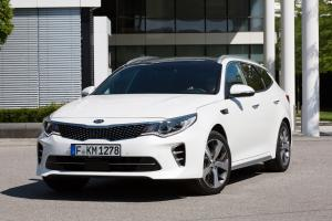 Kia Optima Sportswagon GT Line 2016 года