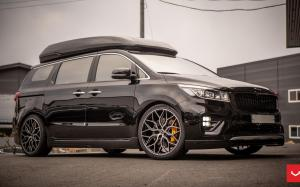 Kia Carnival on Vossen Wheels (HF-2) 2019 года
