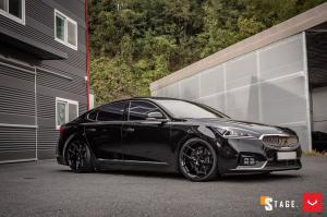 Kia K7 2.2D by Stage on Vossen Wheels (HF-5) 2019 года