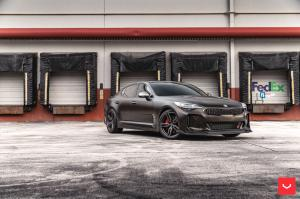 2019 Kia Stinger GT on Vossen Wheels (HF-1)
