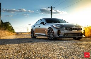 2019 Kia Stinger GT on Vossen Wheels (HF-2)