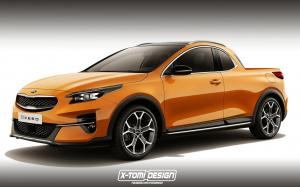 Kia XCeed Pickup by X-Tomi Design 2019 года