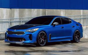 Kia Stinger GT on Vossen Wheels (HF-5) 2020 года