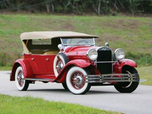 Kissel Model 8-95 White Eagle Tourster '1929
