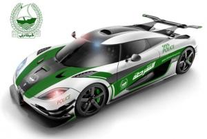Koenigsegg One:1 Dubai Police Car 2014 года