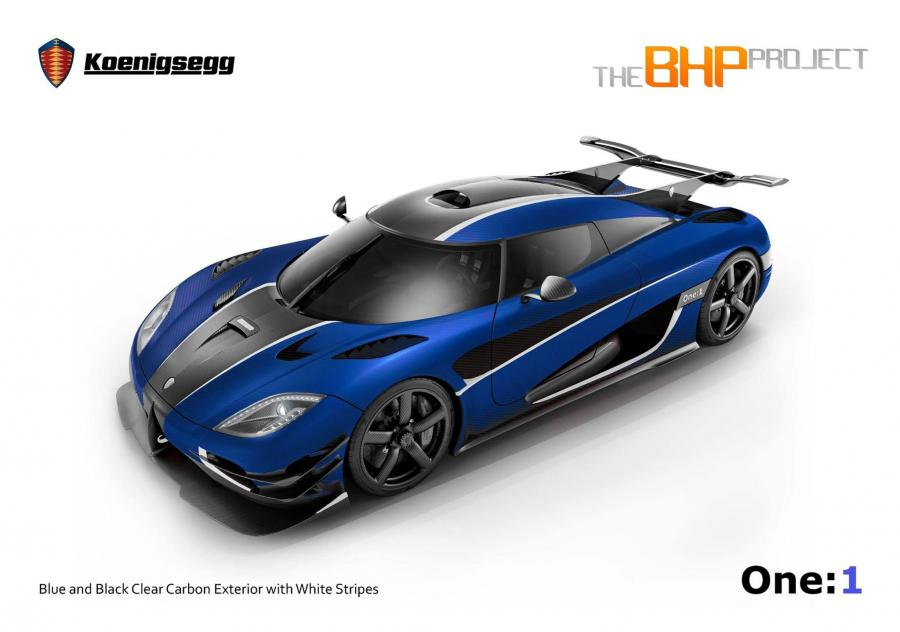 Koenigsegg One: by BHP Project