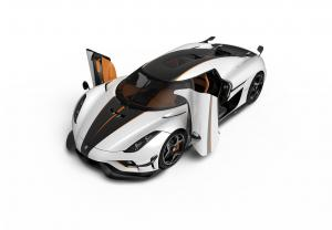 Koenigsegg Regera Ghost Package 2018 года