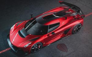 Koenigsegg Jesko Red Cherry Edition 2019 года
