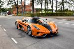 Koenigsegg Regera in Orange 2019 года