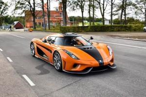 2019 Koenigsegg Regera in Orange