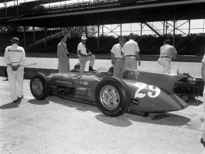 Kurtis Kraft Novi Indy 500 Race Car 1956 года