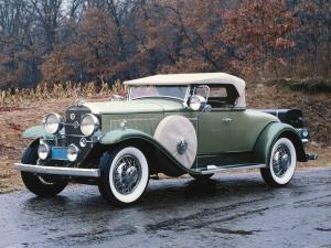 1931 LaSalle Eight Roadster by Fleetwood