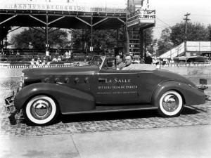 LaSalle Convertible Coupe Indy 500 Pace Car 1934 года