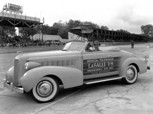 1937 LaSalle Convertible Coupe Indy 500 Pace Car