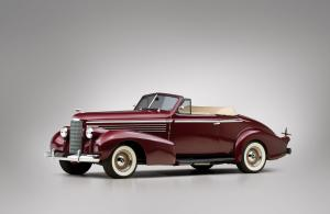 LaSalle Custom Convertible Coupe 1938 года