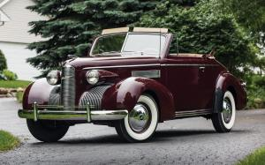 LaSalle Convertible Coupe 1939 года