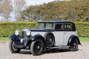 1933 Lagonda 16/80 Saloon by Weymann