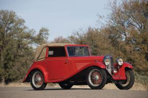 Lagonda Rapier 3-Position Drophead Coupe 1935 года