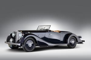 1939 Lagonda V12 Rapide Sports Roadster by Vanden Plas