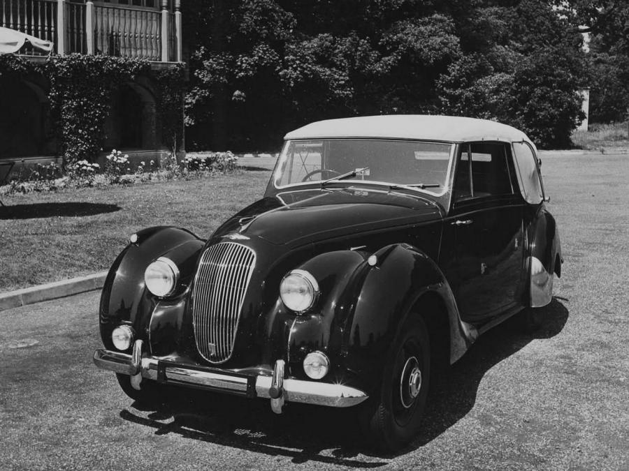 Lagonda 2.6-Litre Drophead Coupe by Tickford '1949